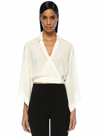 Mo&Co Bluz Beyaz